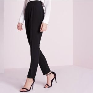 Joie Black Cuffed Ankle Pants
